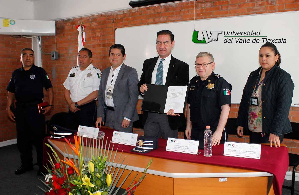 LA UVT Y LA COMISIÓN ESTATAL DE SEGURIDAD FIRMAN CONVENIO DE COLABORACIÓN
