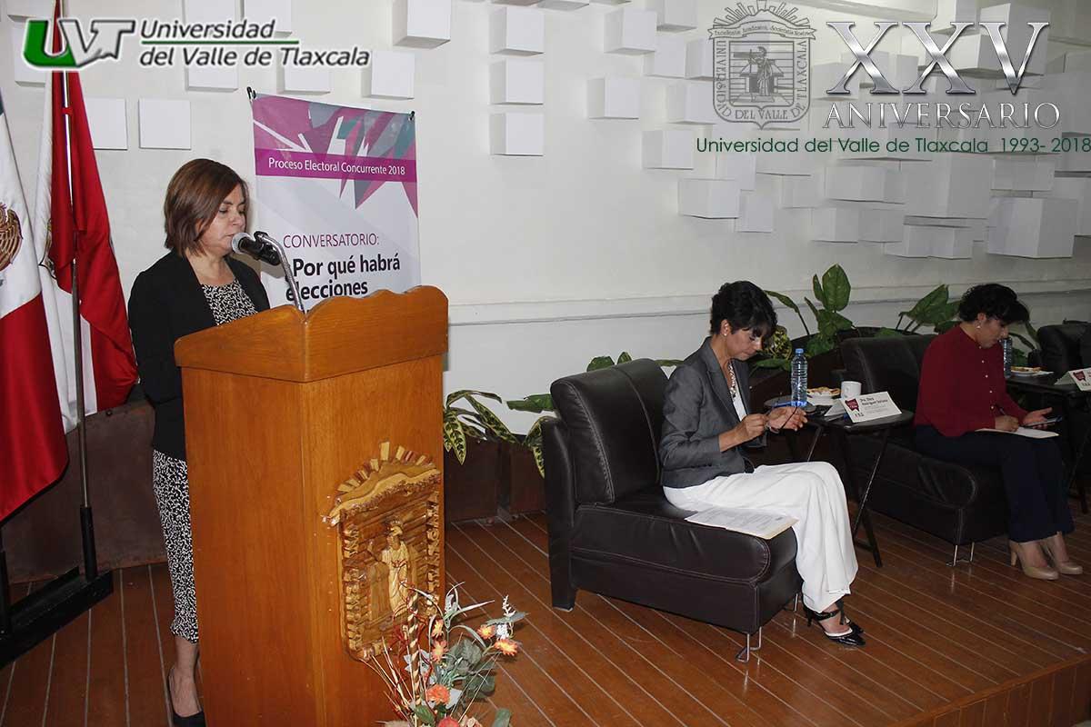 LA UVT RECIBE CONVERSATORIO POR PARTE DEL INSTITUTO TLAXCALTECA DE ELECCIONES
