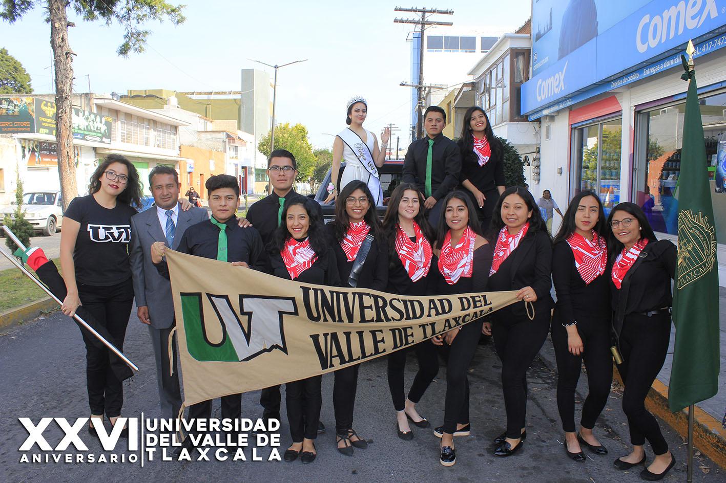 UVT PARTICIPA EN DESFILE DEL CIX ANIVERSARIO DE LA REVOLUCIÓN MEXICANA