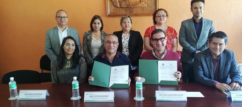 S.XXX DEL SÍNDICATO DE TRABAJADORES DEL IMSS Y LA UVT RENUEVAN CONVENIO