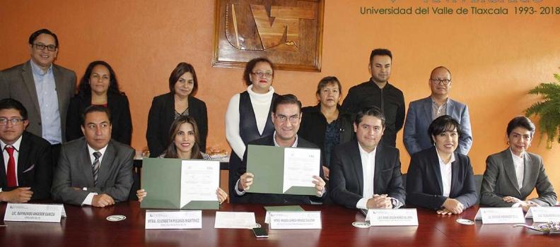 EL INSTITUTO TLAXCALTECA DE ELECCIONES Y LA UVT SUSCRIBEN CONVENIO