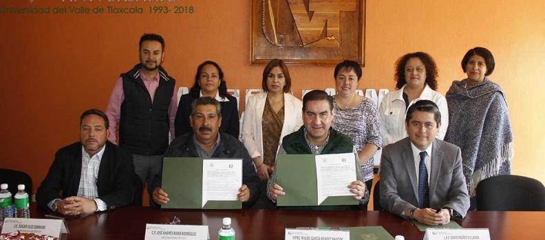 LA UVT Y EL CBTIS 211 DE SAN JORGE TEZOQUIPAN FORMALIZAN ACUERDO DE COOPERACIÓN