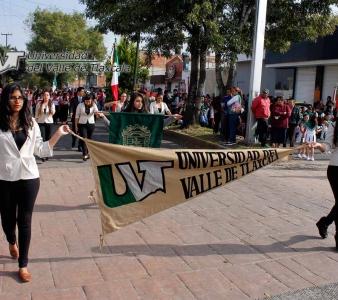 LA UVT  PARTICIPA EN EL DESFILE DE LA REVOLUCIÓN MEXICANA