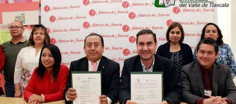 CELEBRA CONVENIO UVT Y FÁBRICAS DE FRANCIA EN APIZACO