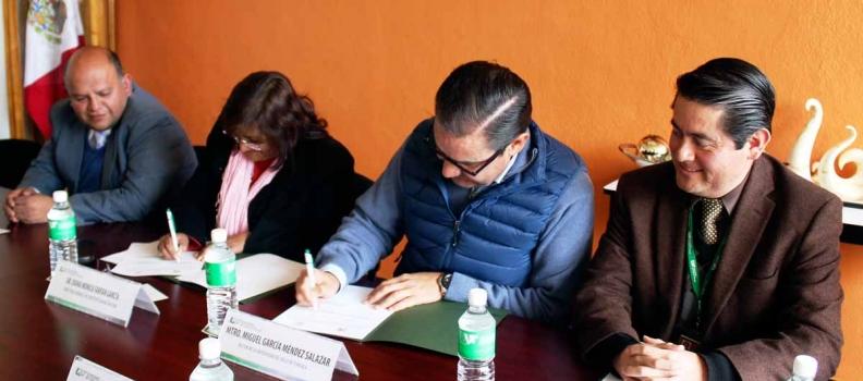 Firma de Convenio con Instituto Mario Molina